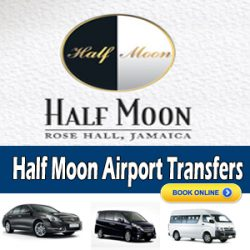 airport transportationm to half moon