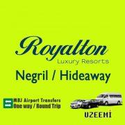 Rioyalton Negril airport transfers