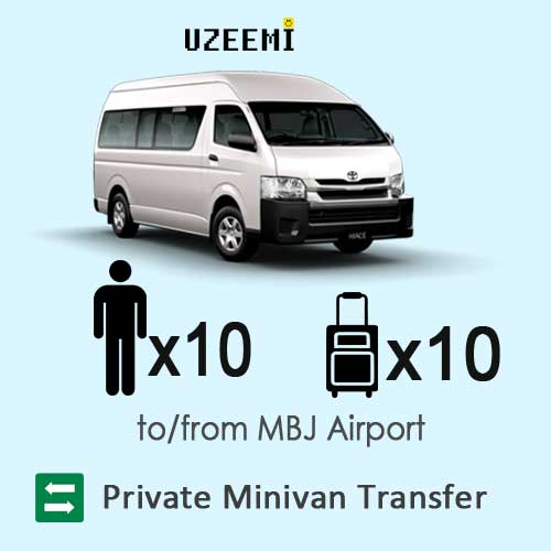 private minivan airport transfers