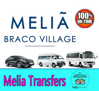 Melia Braco Village transfers