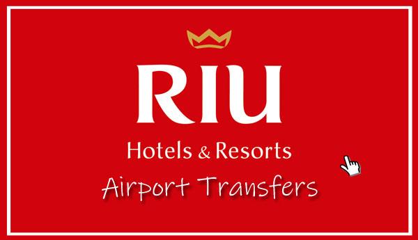 riu hotel airport transfer